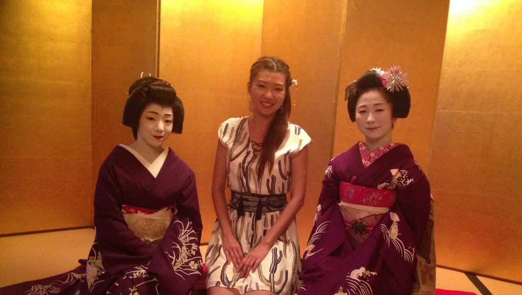 A night with Geiko and Maiko